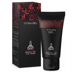 TITAN GEL - Povečanje penisa in močna erekcija!