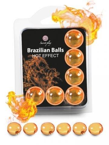 BRAZILSKE KROGLICE Secret Play Hot Effect 6/1