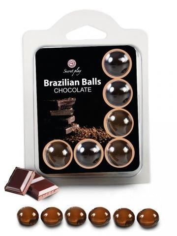 BRAZILSKE KROGLICE Secret Play Chocolate 6/1