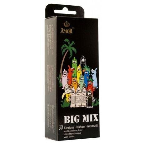 KONDOMI Amor Big Mix 30/1