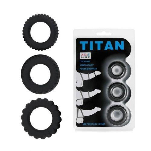 KOMPLET OBROČKOV Titan