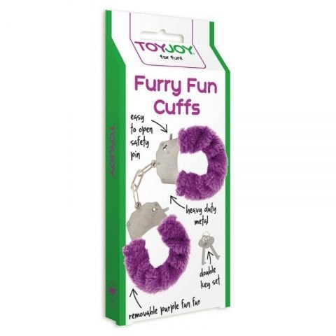 EROTIČNE LISICE Furry Fun (Vijolična)