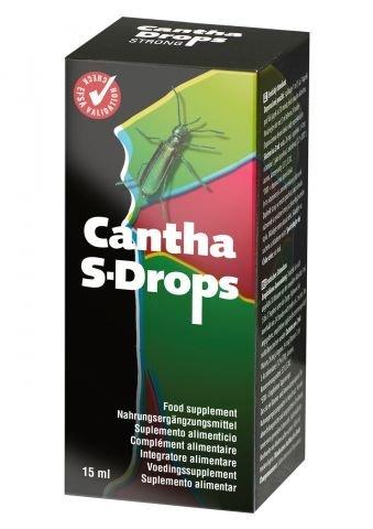 LJUBEZENSKE KAPLJICE Cantha Drops